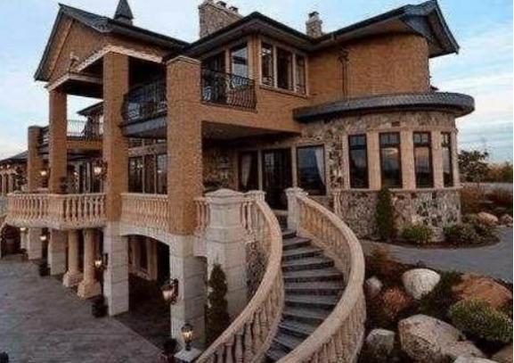 黄晓明送给老婆的豪宅:特意把房子盖成欧式风格