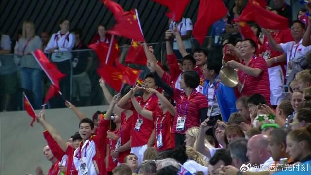 2012伦敦奥运会叶诗文打破400米混合泳世界纪录