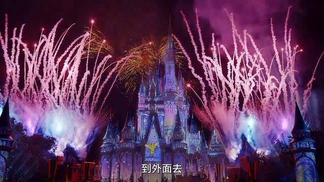 迪士尼乐园烟火表演🎆 相信去过迪士尼的朋友都看过这个压轴大戏