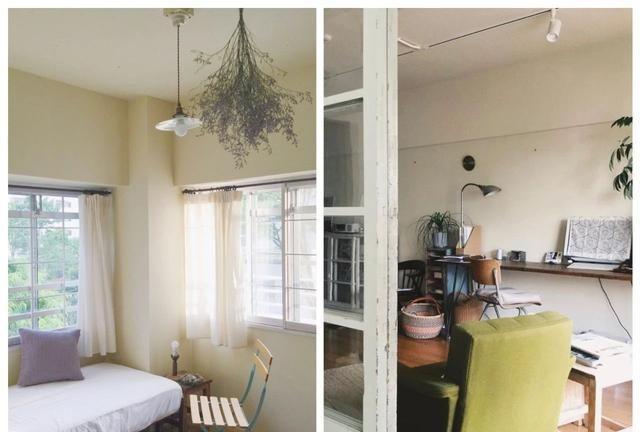 日式原木风的家居简洁的木质家具让房间看起来更加有品位