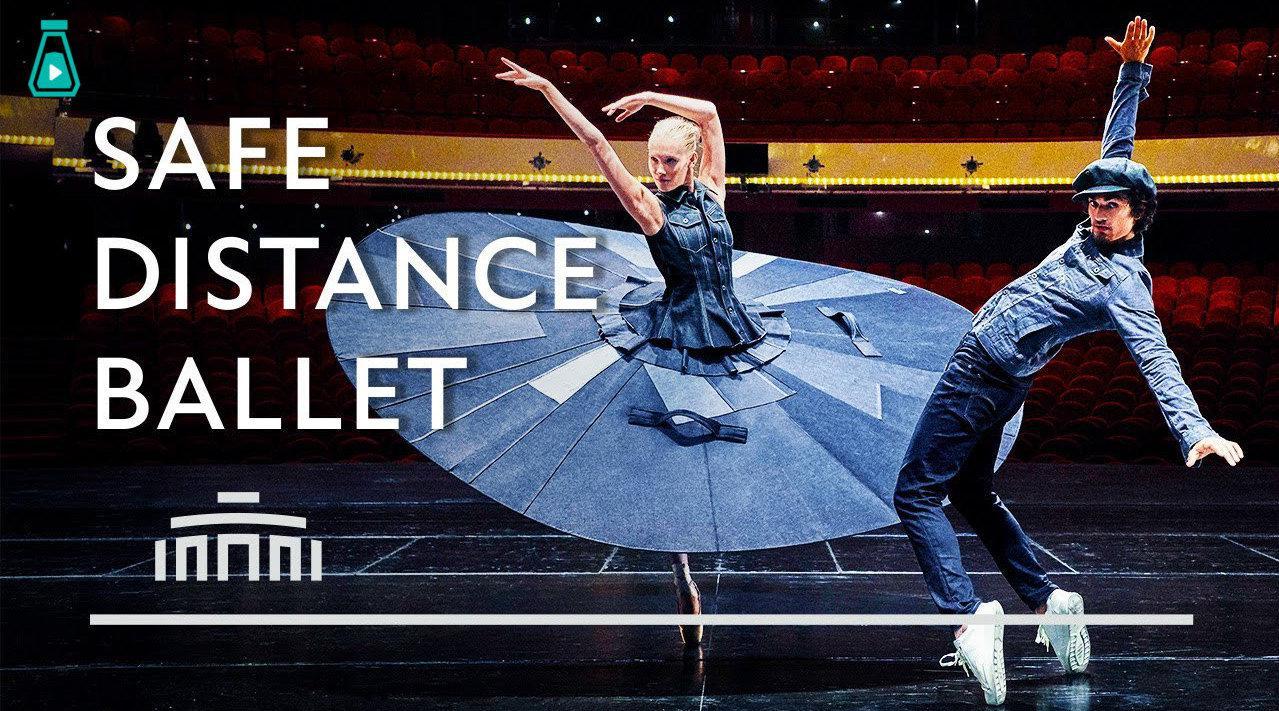 荷兰国家芭蕾舞团和服装品牌合作推出的宣传片