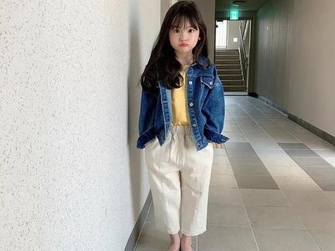 又想骗我生女儿!7岁小宋慧乔成OL风教科书,真正的小个子穿搭术