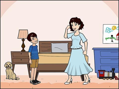 和谐家庭才能培养出优秀孩子,亲子互动和沟通,有助于孩子的学习