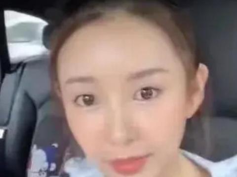张子萱做头发前被迫卸妆,前置镜头下的素颜,网友:替陈赫不值