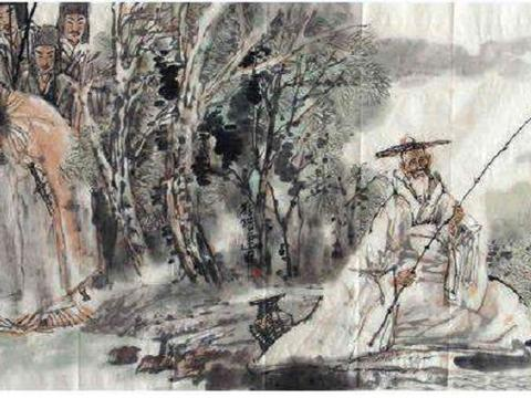周文王与姜子牙,君臣二人一猎一钓,可谓天作之合