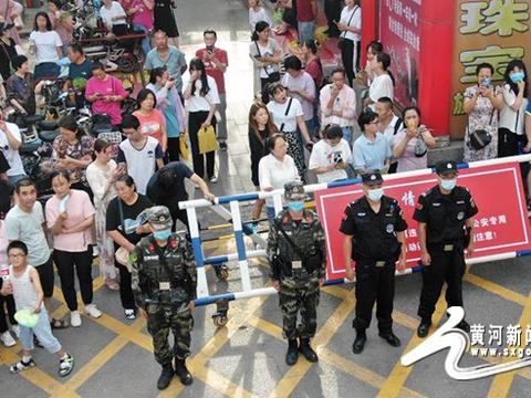 文水县公安局巡特警大队无人机巡控为高考护航