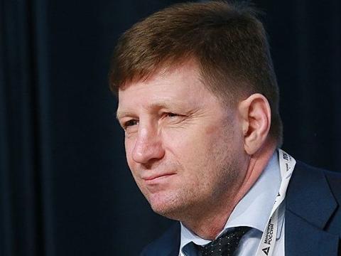 俄侦委:哈巴罗夫斯克边疆区行政长官,谢尔盖∙富尔加尔被起诉