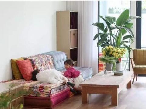 晒晒赵子琪和路金波的豪宅,厨房大得能放下床,这面积大得过分了