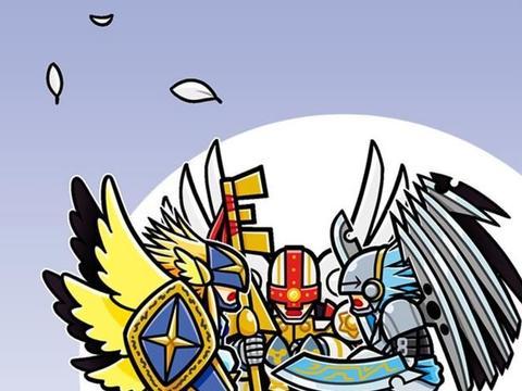新数码宝贝:最惨天使非他莫属,地位被瓦尔德兽取代
