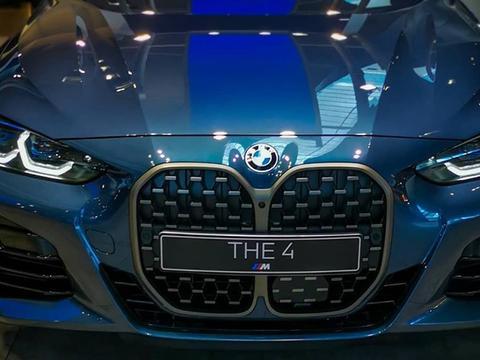 全新宝马4系实车 硬朗的风格