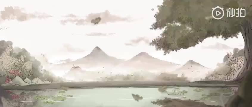 唯美中国风动画短片何处惹尘埃,初夏四月,一座幽静的古寺内……