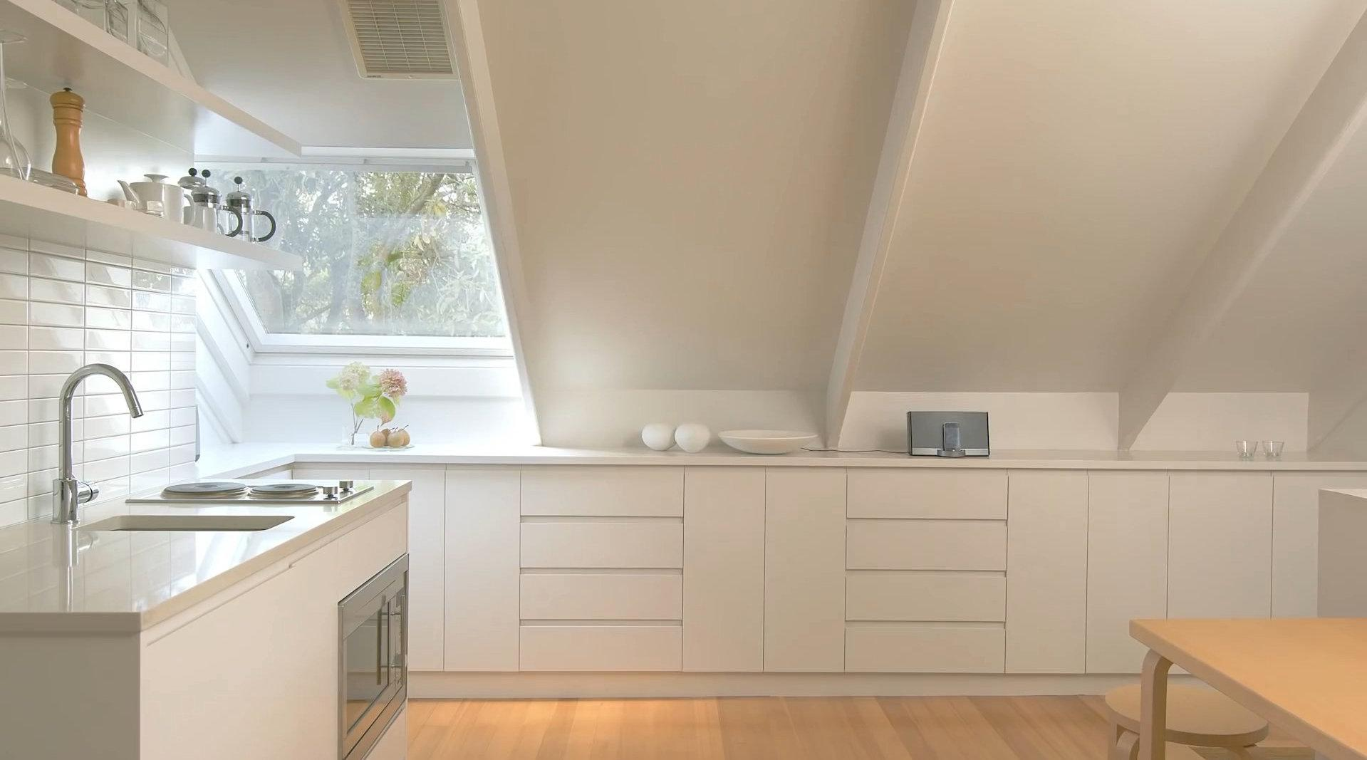 家有小阁楼装修别敷衍,48平现代极简风设计榜样呈现