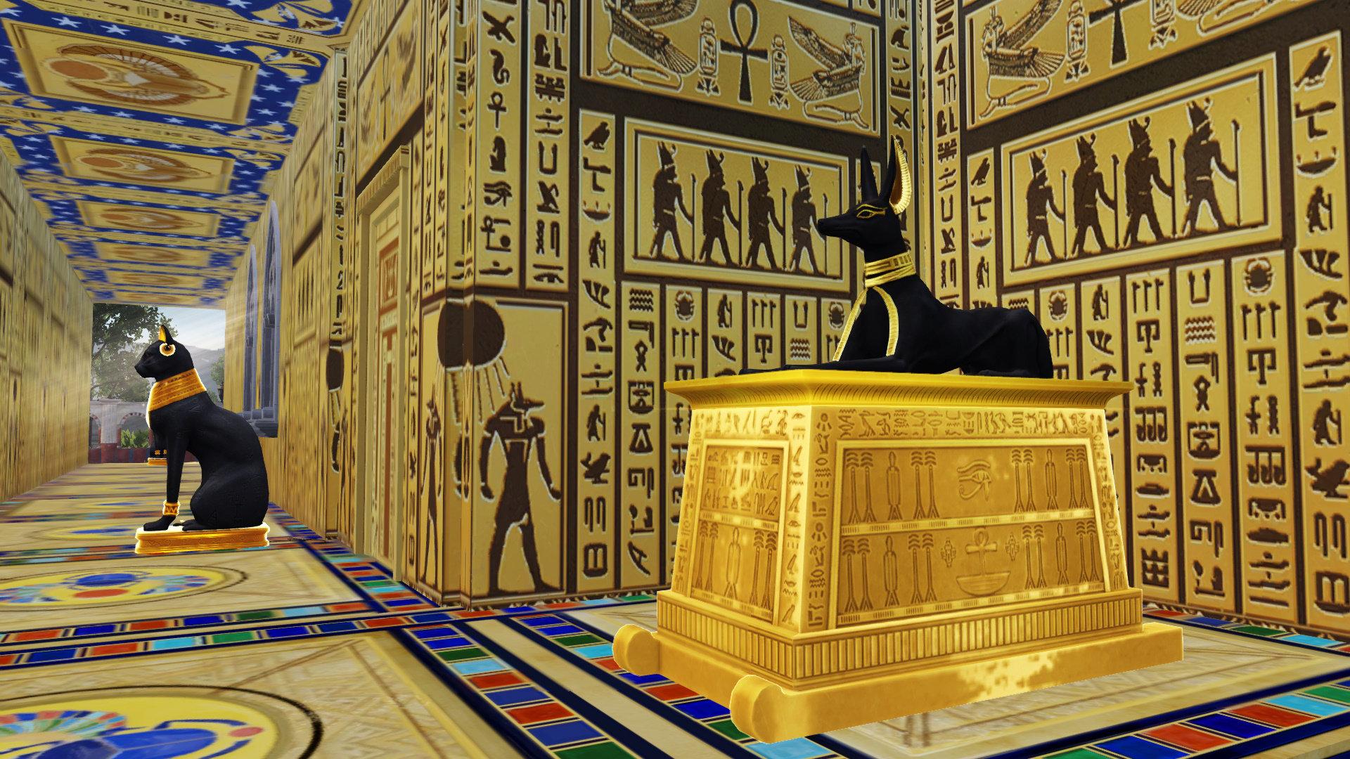 明日之后用埃及金字塔做家具,混搭赛博朋克风泳池?槽点太多