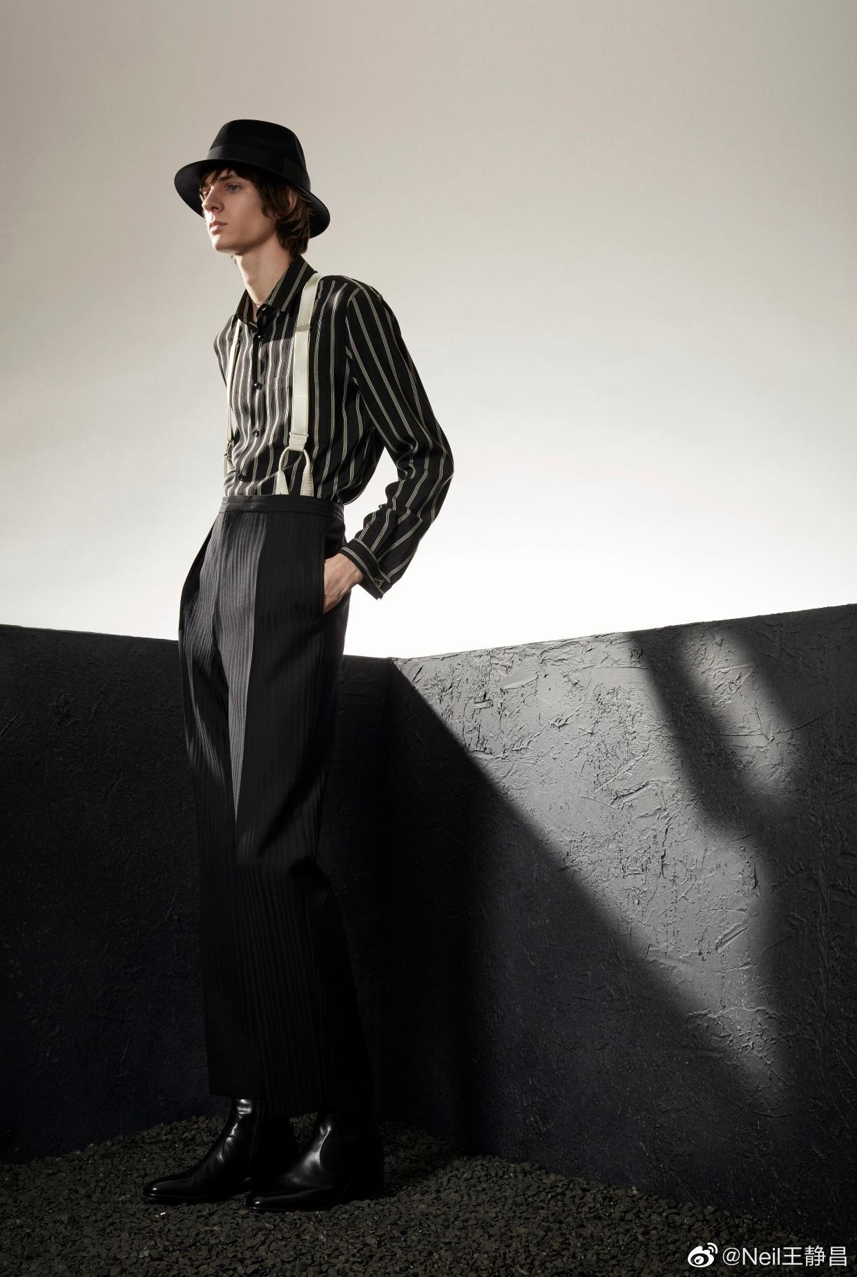 Saint Laurent 2020早秋男装系列 同一季作品……