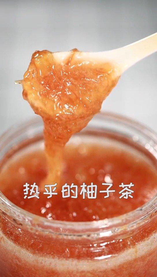 润肺去火的蜂蜜柚子茶