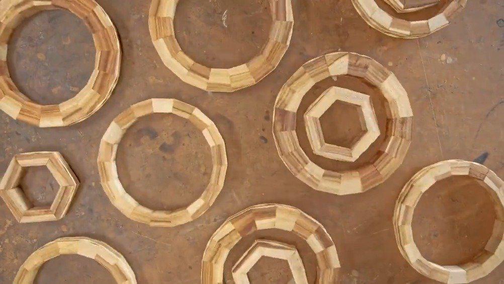 无叶风扇的风是从哪来,老师傅做了个木头的,直观展示构造……