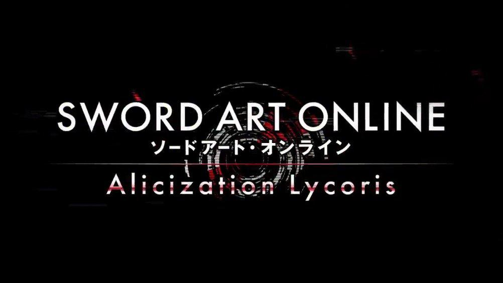 游戏《SWORD ART ONLINE Alicization Lycoris (刀剑神域:彼岸游境)》
