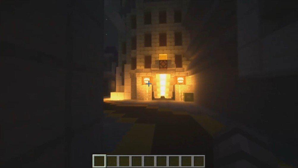 用Minecraft重现守望先锋的国王大道 by DDoom3099