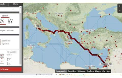 在罗马帝国时代,从耶路撒冷到罗马旅行,需要多长时间?