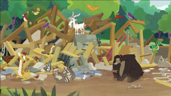 小马宝莉:小动物的诊所毁了,心疼死柔柔了,还得重新建一个