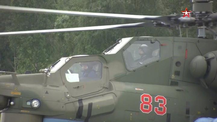 俄罗斯军事 俄西部军区列宁格勒陆航部队接收2架改进型米-28UB武装直升机