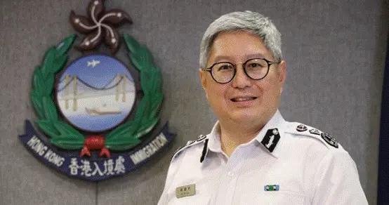 香港入境处处长区嘉宏:会将危害国家安全人士拒之门外,无畏无惧守好国家南大门