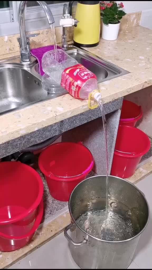 停水要蓄水,这样做简单又轻松