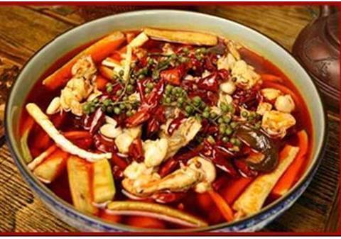 美食精选:麻辣香锅味烩菜、蜜汁里脊肉、蒜苔炒腊肉、鸡肉炖山药