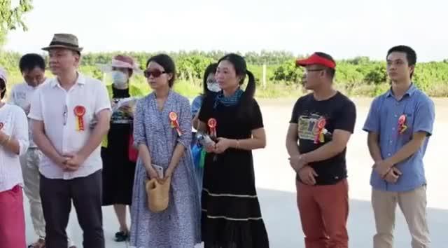 省青年美术家协会花鸟画采风创作基地在徐闻迈陈北街挂牌