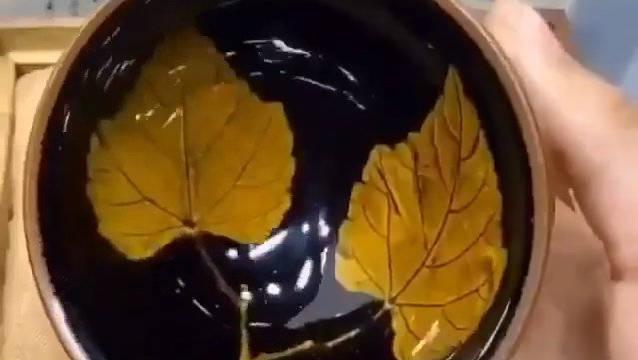 12秒钟变神奇!茶杯建盏,茶之圣器!爱了吗?