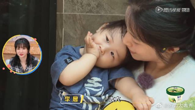 哄孩新手李晨一句话吓哭小朋友?干女儿:说好的红包呢?