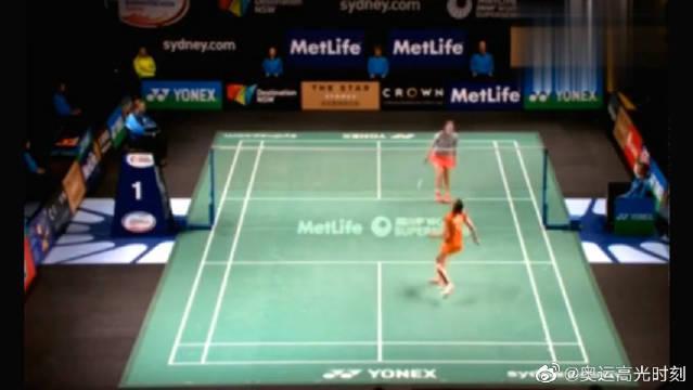 女单羽毛球比赛,马琳对战王适娴,两人来了一场实力的较量!