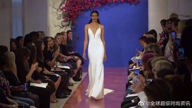 2020纽约时装周全新高端婚纱秀超模走秀第三部分……
