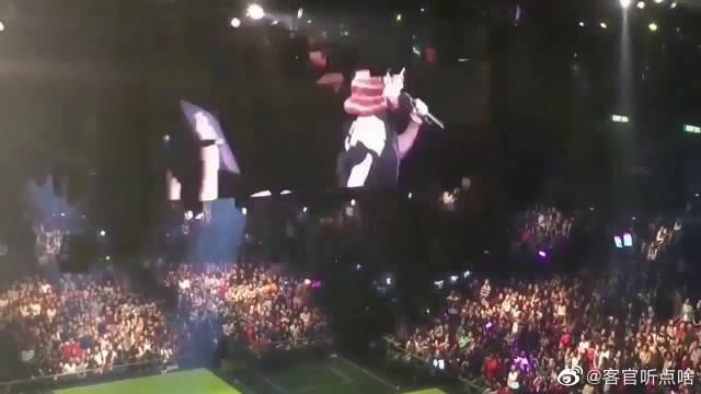 搞事情,蔡依林演唱会,歌迷点了一首周杰伦的《骑士精神》
