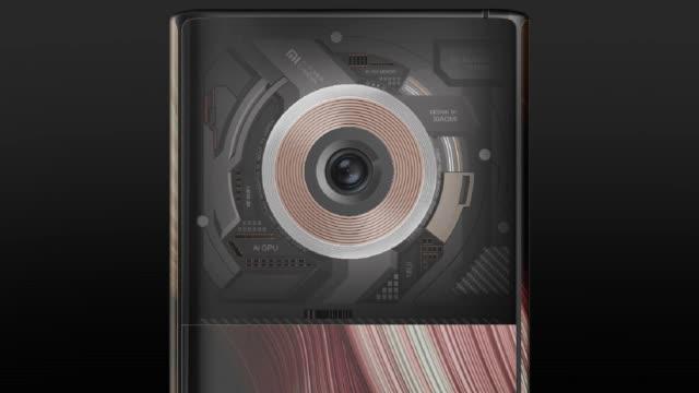 隶属MIX系列?小米全新外观设计专利曝光,相机夸张