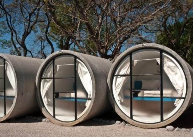 """全球最""""穷酸""""的酒店,游客只能睡水泥管,房价385依然人满为患"""