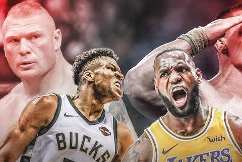 现役NBA最适合WWE的五大球星:亚当斯靠实力,詹姆斯靠演技!