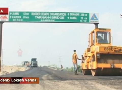 深谋远虑,印度加速完善边境国防交通设施,东西边境两开花