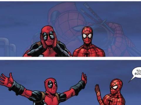 漫威:漫威亲儿子和打破第四面墙的他,是最受欢迎的高人气角色