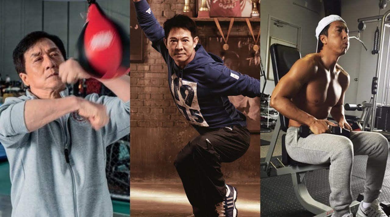 成龙、李连杰、甄子丹谁功夫更强?看看他们的视频合集!