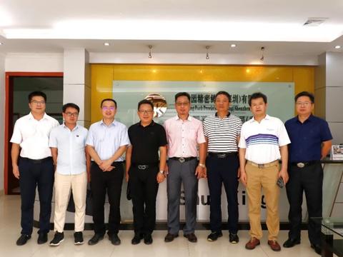 精准招商网助力云南蒙自经开区赴深圳考察对接有色金属深加工项目