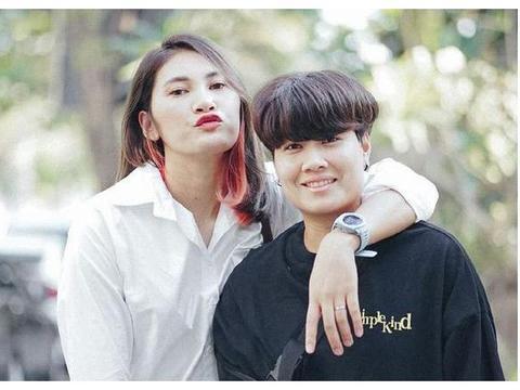 泰国女排副攻大将,现与网球亚运会冠军热恋,都是家喻户晓的明星