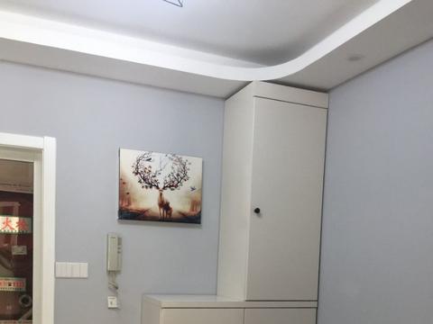南京清荷南苑92平极简设计,三室两厅的自行设计
