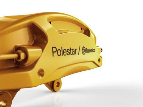 极星携布雷博造制动产品,用在Polestar 2上