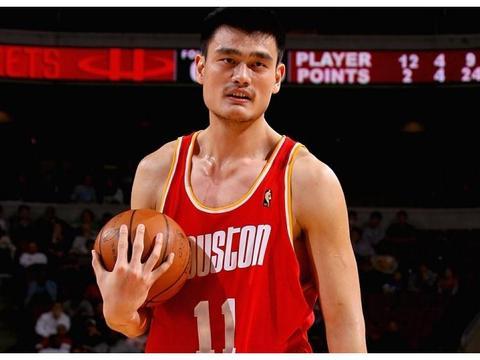 中国球员NBA生涯总得分排行,姚明一枝独秀,周琦不是最低
