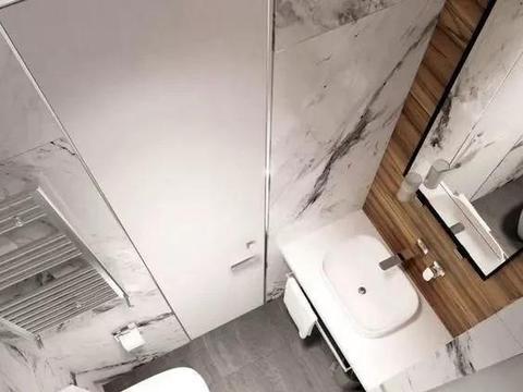 要是装修能重来,卫生间就要这 样改,3种万能布局不浪费1㎡空间