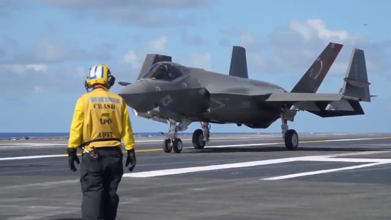 F-35C的舰载作业