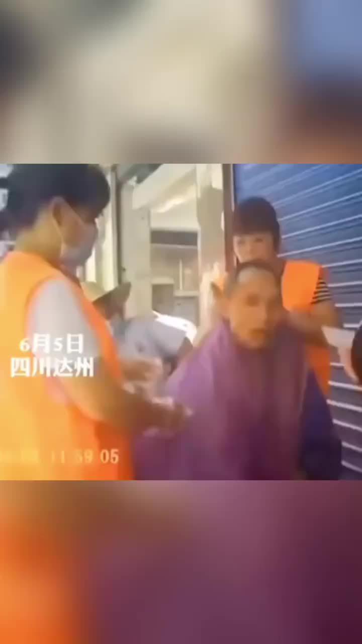 四川通川某社区居家养老志愿服务疑作秀……