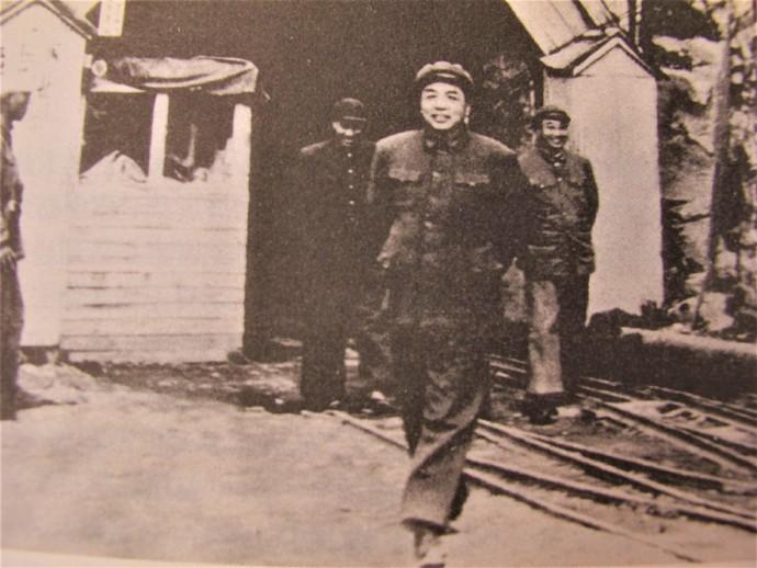 彭德怀出任志愿军司令员的一组照片