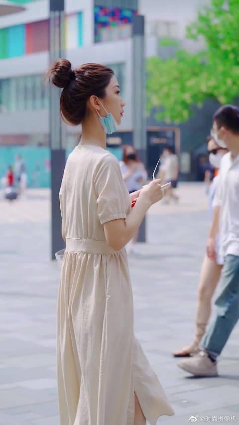 这是传说的天鹅颈吗?法式穿搭是我最爱的风格呀